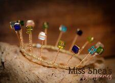 Stunning Mini Crown,Swarovski crystal tiara,wedding Flower girl,gift,handmade