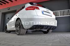 Per Audi A3 Paraurti Posteriore Rs Spoiler Diffusore Splitter Aggiuntiva