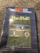 Mega Rare Atari XE Hardball Cartridge - Factory Sealed - Brand New
