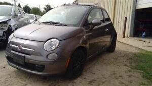 Roof Gray 2 Door Coupe With Sunroof Sliding Fits 12-17 FIAT 500 67667