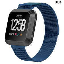 Magnetic magnet Stainless Steel Watch Wrist Band Strap For Fitbit Versa 2 Lite