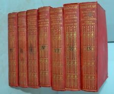 Vintage Pocket Falstaff Edition Of Shakespeare's Complete Words Sands Book
