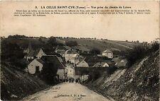 CPA   La Celle-Saint-Cyr (Yonne) -Vue prise du chemin de Loivre  (357943)