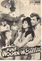 NFP 3.103 – FÜNF WOCHEN IM BALLON – Red Buttons, FABIAN, Peter Lorre 1963 RARE