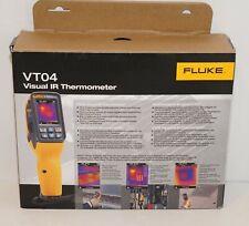 Fluke Vt04 Visual Ir Infrared Theromemeter Tempereture Meter W Auto Alarm New