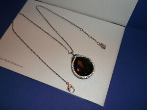 Genuine SWAROVSKI Crystal SAGE Pendant Necklace