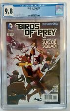 Birds of Prey #32 CGC 9.8 Batgirl/ Harley Quinn Catfight Cover 2014