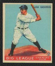 LOT of 25 REPRINT 1933 Goudey #92 LOU GEHRIG New York Yankees