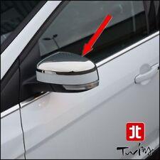 Calotte cromate copri specchietti cromati Ford Focus II III 2008-2018 Mondeo IV