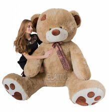 Teddybär 240cm 190cm 160cm 100cm HELLBRAUN XXL BIG  Plüsch Riesen Stofftier
