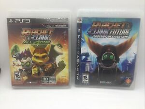 Ratchet & Clank Future Tools of Destruction/ All 4 One (Sony PlayStation 3, PS3)