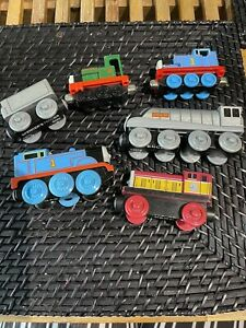 THOMAS THE TANK MAGNETIC TRAIN BOYS TOYS X6