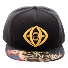 OFFICIAL DOCTOR STRANGE EYE OF AGAMOTTO SNAPBACK CAP WITH PRINTED VISOR (NEW)