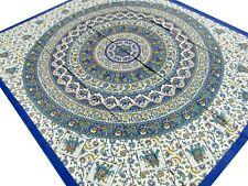 Éléphants décorés Couvre-lit indien Mandala Tenture Boho Coton Hippie Inde Boho