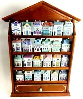 Lenox Spice Village Complete Set with Display Rack 1989