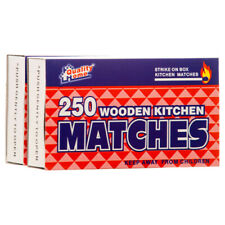 500 Pcs  WOODEN KITCHEN RED PENNY MATCHES