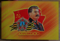 Booklet + 100 rubles 2020 joseph stalin. Great politicians USSR and Russia UNC