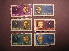 Albania Stamp Scott# 680-685 Pilots of Vostok I & VI  MNH L4B4