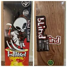 "Blind Skateboard Deck Rocking Horse Explosion Reaper,31.5 x 8.25"" New In Plastic"