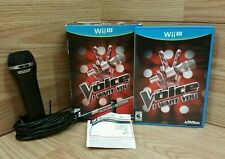 The Voice I Want You! (Wii) Includes Game and Microphone! Forget About Looks!