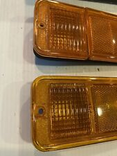 NOS 1968-1972 Chevy Blazer Van Pickup Truck Side Marker Lamp Set Of 2 GMC Light