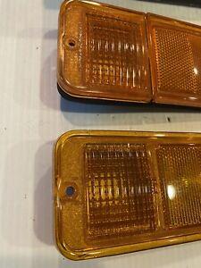NOS 1968-1972 Chevy Blazer Van Pickup Truck Side Marker Lamp Set Of 2 GMC Light