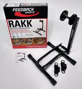 Feedback Sports RAKK Bicycle Storage Rack - Black