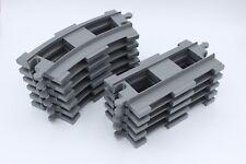 LEGO Duplo Ferroviaria appena & curvi (scuro) GRIGIO rotaie-erweiterungsset