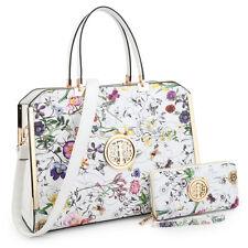 New Women Leather Satchel Handbag Purse Tote Shoulder Bag Briefcase w/ Wallet
