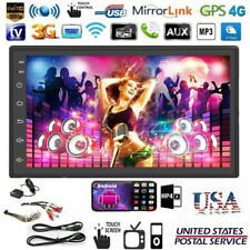 7'' 2Din Android 9.1 Car Radio Stereo Touch Screen WIFI GPS FM MP5 Player SD USB