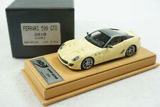 1/43 BBR FERRARI 599 GTO IVORY BEIGE DELUXE LEATHER LE 5 PCS MR VERY RARE #01/05
