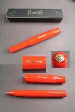 Kaweco Classic Sport penna a sfera colore rosso NUOVO #
