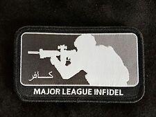 Major League Infidel Subdued Morale Woven Patch