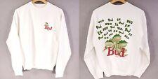 VINTAGE 1995 Budweiser Frogs  Sweatshirt L Beer 90s USA Made Rare