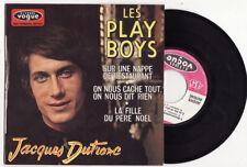 RARE EP JACQUES DUTRONC-LES PLAY BOYS-LANGUETTE-FRENCH
