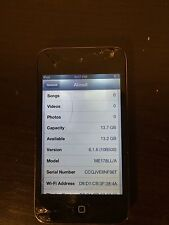 Used Working Apple iPod touch 4th Generation Black (16 Gb) *Free Shipping*