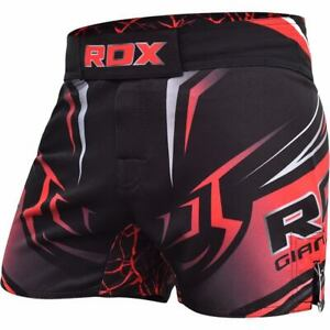 RDX MMA Fight Shorts R8 Rot Kampfsport Fitness Fight BJJ MMA Shorts Herren