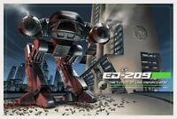 "ROBOCOP ED-209 Jason Edmiston SIGNED   2013 MONDO 24""x 36""    Edition 192"