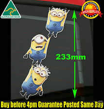 MINION Hanging Sticker Despicable Me DVD JDM Decal Family Car Truck Wall Window