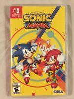 Sonic Mania - Nintendo Switch FREE SHIPPING