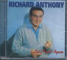 CD Richard Anthony Let's Twist Again Neuf sous cellophane
