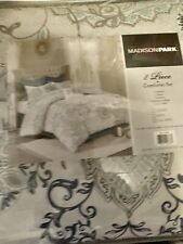 Madison Park Eden 8 Piece Cotton Comforter Set, Cal King