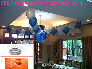 5M Balloon Accessories Arch Connect Strip Balloon Chain Holder Tape Transparent