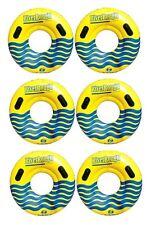 "6 NEW Swimline 17035ST Swimming Pool River Rough 48"" Heavy Duty Floating Tubes"