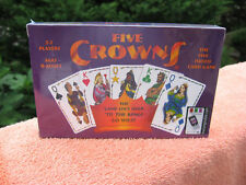Five Crowns Card Game 5 Suites Classic Original Family Party Rummy Style Play