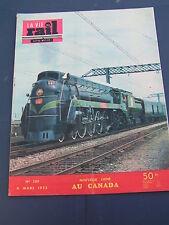 vie du rail 1953 389 CNR Keewatin Railway SHERRIDON LYNN LAKE MONTMéDY VITTEL