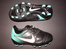 Nike Youth JR CTR360 Libretto FG Blk/Turq/Wht Size 10.5