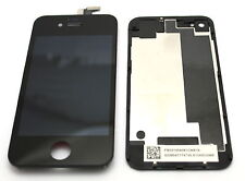 PR1 DISPLAY MONITOR+VETRO TOUCHSCREEN PER APPLE IPHONE 4S COVER BATTERIA NERO