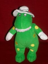 THE WIGGLES Touring Party DOROTHY THE DINOSAUR BEAN BAG PLUSH DOLL TOY 2007