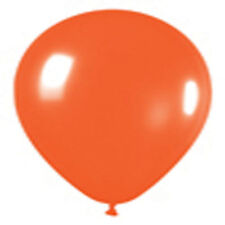 12 Fashion Orange Latex Balloons Helium Grade 11""